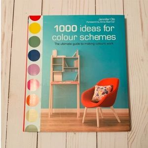 Other - 1000 Ideas for Color Schemes Interior Design Book